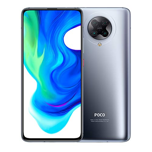 "Xiaomi POCO F2 Pro 5G - смартфон 6.67 ""AMOLED 6 ГБ 128 ГБ 64 Мп Quad Камера заднего вида AI 8K Видео 4700 мАч (тип.) Qualcomm® Snapdragon ™ 865 Black [Глобальная версия]"