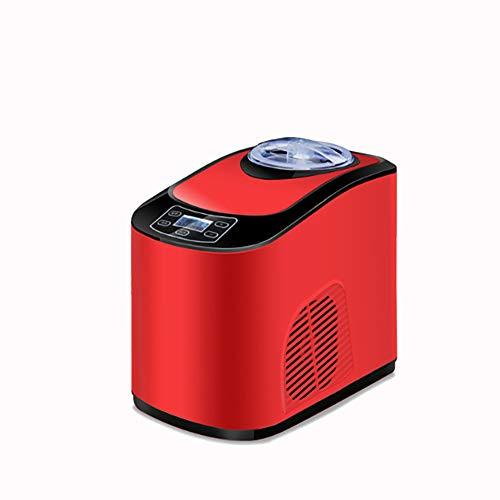 ALY Professionelle Eismaschine Elektrisch - 1,5 L Kühlfunktion - Schnelle Zubereitung für Frozen Yoghurt, Sorbet und Eiscreme