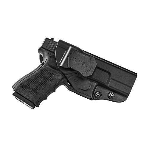 New Launch Glock IWB Adjustable Paddle Holster, Right Hand, for Glock 19, 23,32 Gen 1 2 3 4 , Inside Waistband Tactical Pistol Holster, Best for CCW Concealed Carry, Police, Law Enforcement