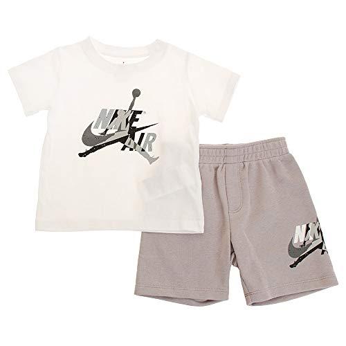 Nike Air Jordan Set 2 PC Tuta Bambina Atmosphere Gray 656941-G4R (12M)
