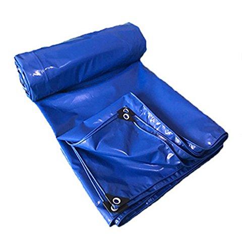 Dongyd Pare-Soleil imperméable de PVC de Garage d'entrepôt Bleu de bâche imperméable (Couleur : Bleu, Taille : 5 * 5m)
