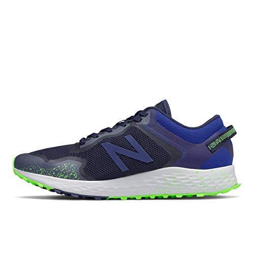 New Balance Arishi V1 Fresh Foam, Zapatillas de Trail Running Hombre, Gris Tidepool de Acero, 40 EU