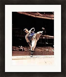 Bob Feller Autographed Photograph - 8x10) #8 Matted & Framed - Autographed MLB Photos