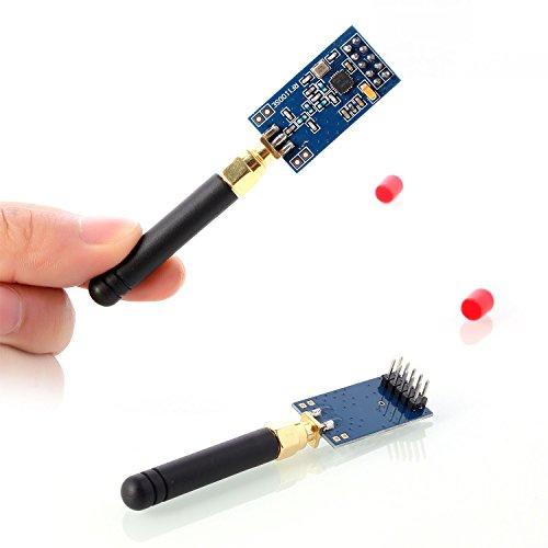 Neuftech 2Pcs 387-464 MHz CC1101 Module Wireless RF Transceiver Module with External Antenna for Arduino