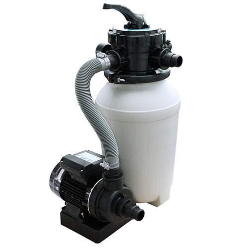 Filteranlage Trend Top Ø 250 mm für Pools bis 20 m³ Wasservolumen plus 500 gr. Filterbälle