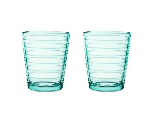 Iittala Aino Aalto Trinkglas 22 cl, 2-er Set, wassergrün