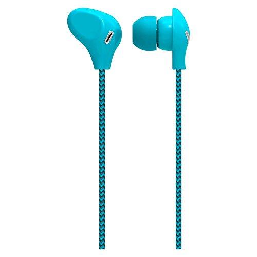 Fone De Ouvido Cabo De Nylon E Microfone Azul Multilaser - PH195