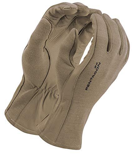 Pentagon Herren Lange Stulpe Pilot Handschuhe Coyote Größe L