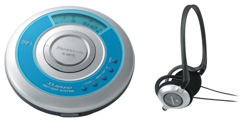 Review Of Panasonic SL-MP75 Portable CD / MP3 Player
