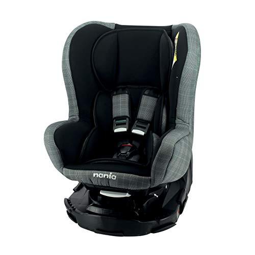 nania Siège Auto pour bébé REVO 360° Groupe 0+/1 (0-18kg), avec Protection latérale London