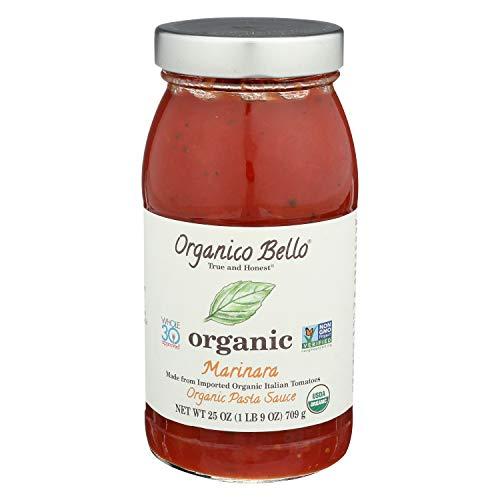 Organico Bello Organic Marinara Pasta Sauce, 25 oz