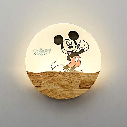 3D Nachtlicht Schlafzimmer Nacht Einfache Wandleuchte @ Mickey Mouse