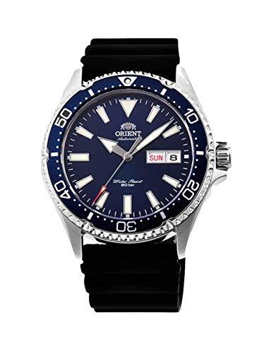 Orient RA-AA0006L19B - Reloj de Pulsera para Hombre, Azul/Negro