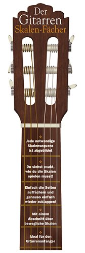 Der Gitarren-Skalen-Fächer