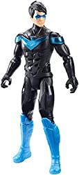 -Updated, 12-inch scale Nightwing action figure in iconic power suit.  -Full assortment includesBatman,Robin,Batgirl, Scarecrow,The Jokerand more.  -11 points of articulation enable authentic combat moves!  -Start a collection and wage epic...
