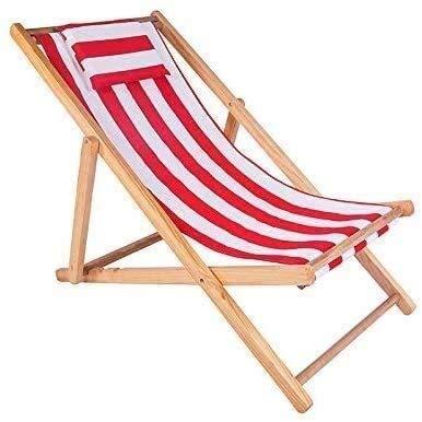 DAGCOT Las sillas reclinables Patio Tumbona Tumbona Silla de Cubierta Plegable Silla de Cubierta de Madera sólida al Aire Libre balcón Exterior 16 Estilos (Color : G, Size : 1)