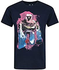 Camiseta Minecraft de Manga Corta para Hombres