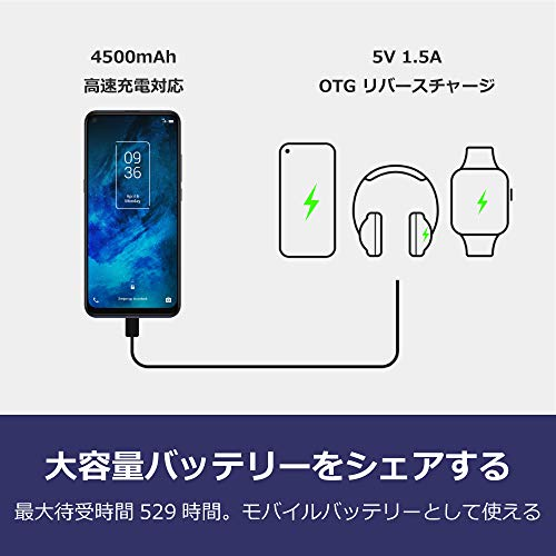 4129CPPViXL-FOXが5G対応スマートフォン「TCL 10 5G」を発売。価格は39,800円