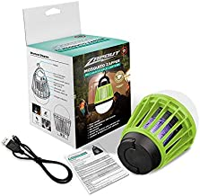 Zapout Camping Lamp Tent Light Bulb - Portable Led and Emergency Lantern with Waterproof Mosquito Repellent USB 2000mAh Rechargeable Battery for Outdoor Backpacking (Lime Green)