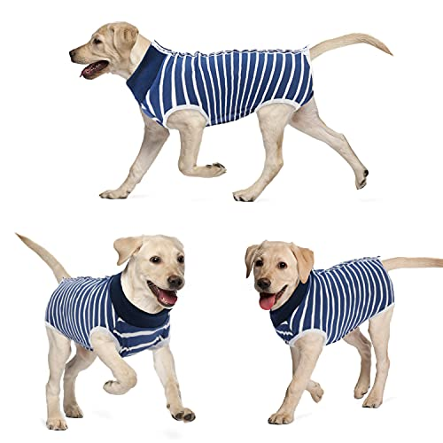 KAROKU Dog Recovery Suit Cats Bodysuits for Abdominal Wounds Recovery...