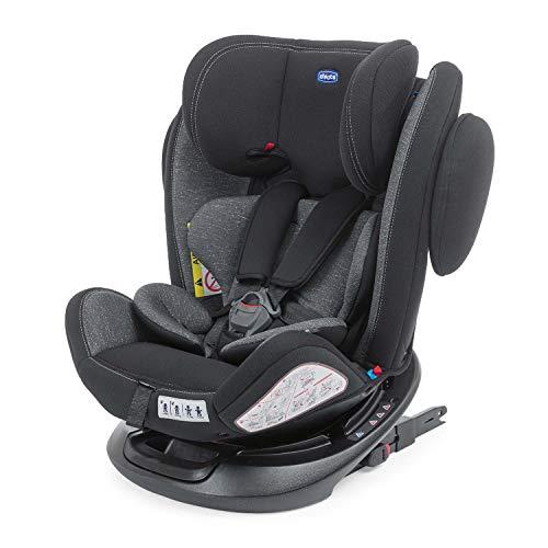 Chicco Unico Plus Seggiolino Auto 0-36 kg ISOFIX Reclinabile, Gruppo 0+/1/2/3, da 0 a 12 Anni, Facile da Installare, Poggiatesta Regolabile,...