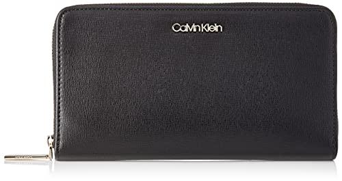Calvin Klein CK Must, Accesorio Billetera de Viaje para Mujer, coñac, One Size