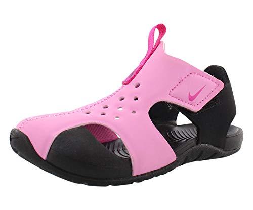 Nike Sunray Protect 2 (TD), Chaussures de Plage & Piscine Garçon Unisex Kinder, Multicolore (Psychic Pink/Laser Fuchsia/Black 602), 27 EU