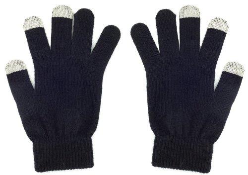 Pro-Tec Touchscreen Handschuhe Medium in Schwarz