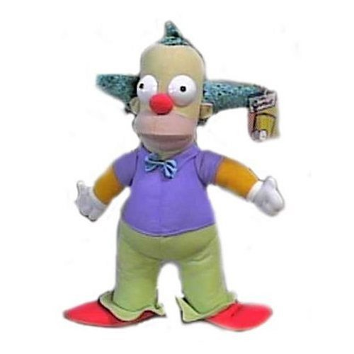 The Simpsons 14' Krusty the Clown Plush Doll