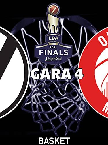 Segafredo Virtus Bologna - AX Armani Exchange Milano | LBA Serie A| Finale - Gara 4