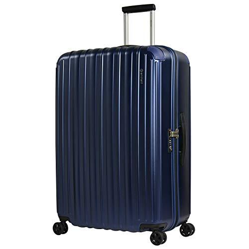 Eminent Maleta Move Air Neo 82 cm 125 L Maleta de Viaje Grande Ligera Protección Adicional en Las Esquinas y Superficie Anti rasguños Azul