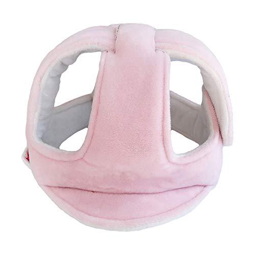 Baby-Sicherheits-Gehen Schutzkappe Helm Kinder Antikollisions Einstellbare Schutzhelm für Baby-Kleinkind - Pink