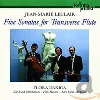 ルクレール:5つのフルート・ソナタ Leclair: 5 Sonatas for Flute