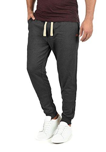 BLEND Tilo Herren Jogginghose Sweat-Pants Sporthose aus hochwertiger Baumwollmischung, Größe:L, Farbe:Charcoal (70818)