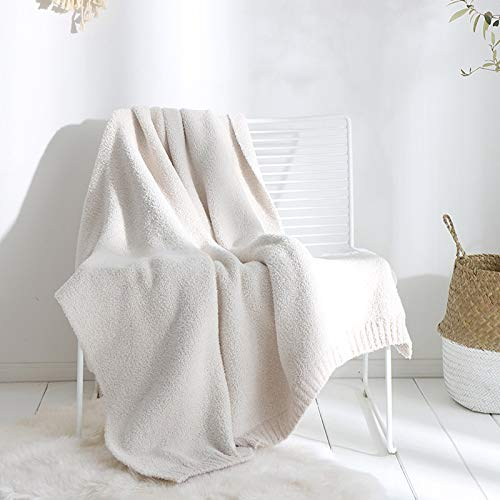 YanHui-LZC Acogedor Super Suave lanudo de la Manta del Tiro cubrecamas Calientes Felpa mullida Espesar Reversible de Microfibra Mantas sólidas for la Cama y sofá 130X160cm para sofá, sofá y Cama