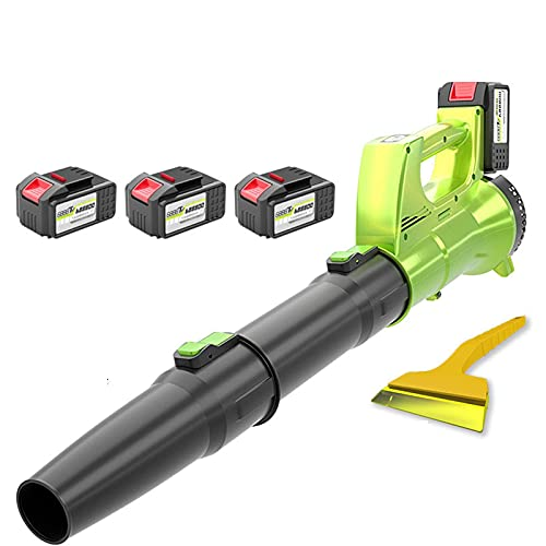 Axial Cordless Leaf Blower Li-Ion 21V Powerful Axial Blower with Electronic Speed Control