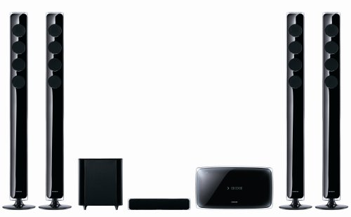 Samsung HT TX 725 GT 5.1 Heimkinosystem (Upscaler 1080p, Crystal, WiFi-Ready, USB 2.0) schwarz