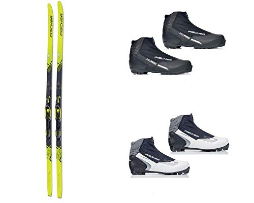 bester Test von nordic cruising ski Fisher Orbiter Crown + Bdg + Schuhe SIN Wax Ski (184 cm, 45)