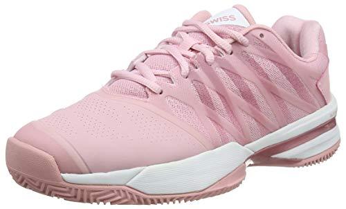K-Swiss Performance Damen Ultrashot 2 HB Tennisschuhe, Pink Coral Blush White 653m, 41 EU