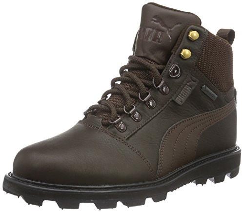 Puma Unisex-Erwachsene Tatau Fur Boot GTX Schneestiefel, Braun (Chocolate Brown-Chocolate Brown 01), 43 EU