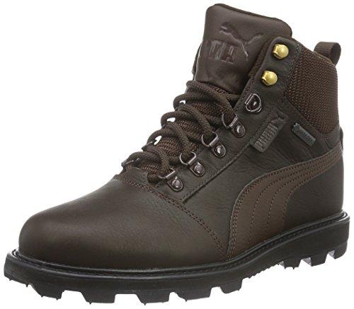 Puma Unisex-Erwachsene Tatau Fur Boot GTX Schneestiefel, Braun (chocolate brown-chocolate brown 01), 43 EU