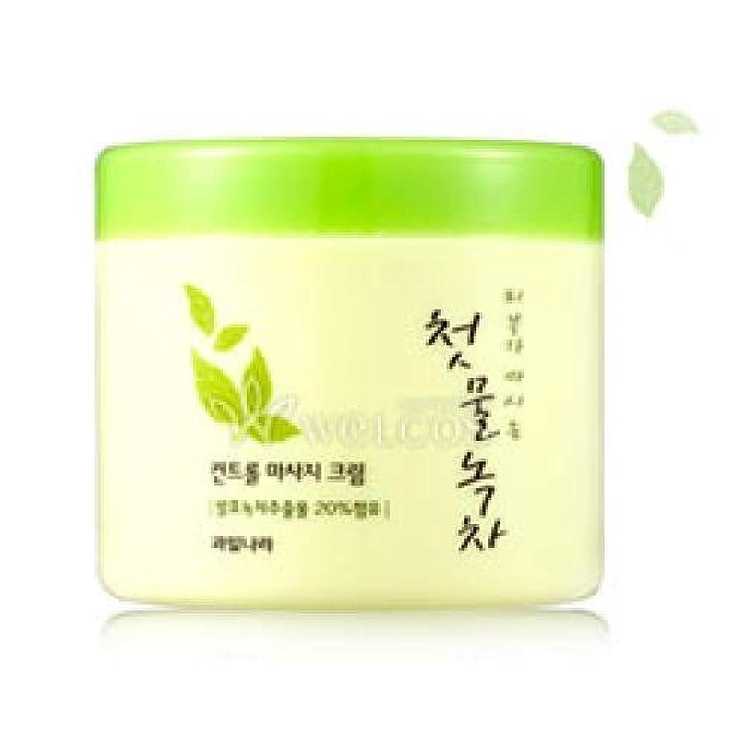 むしろ新年リーガンKwailnara Spring Leaves Of Green Tea Control Massage Cream [Korean Import]