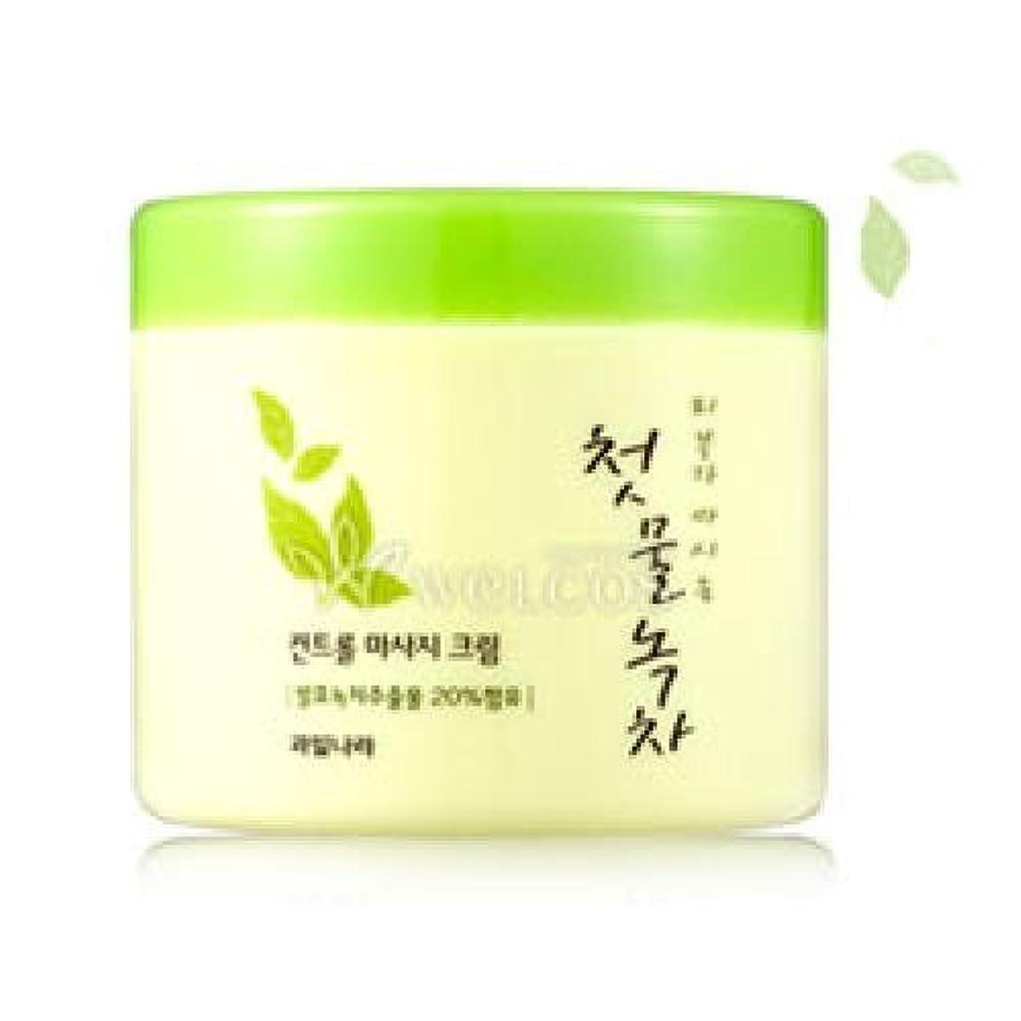 判定アクセント癌Kwailnara Spring Leaves Of Green Tea Control Massage Cream [Korean Import]