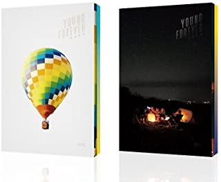 LOEN Entertainment BTS Special Album - Young Forever (Day + Night Version) (2CD + 2CD)+BTS Autograph photocard+BTS Poster+BTS 24K EM Filter+BTS Postcard+BTS Sticker