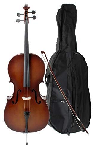 Classic Cantabile Student Cello 4/4 SET inkl. Bogen und Tasche
