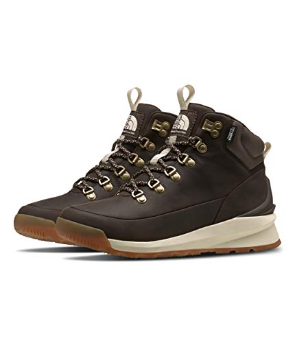 The North Face Women's Back-to-Berkeley Mid WP, Demitasse Brown/Bipartisan Brown, 9.5