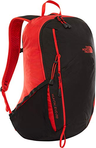 The North Face Kuhtai Evo 28 Backpack - Fiery Red/Tnf Black, One Size