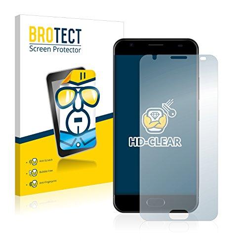BROTECT Schutzfolie kompatibel mit Ulefone Power 2 (2 Stück) klare Bildschirmschutz-Folie