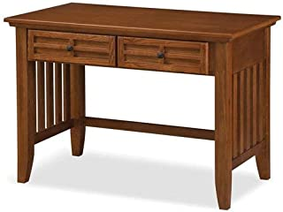 Arts & Crafts Cottage Oak Student Desk by Home Styles