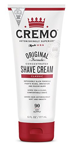 Cremo Astonishingly Superior Shave Cream, 6 Fluid Ounce by Cremo Company LLC